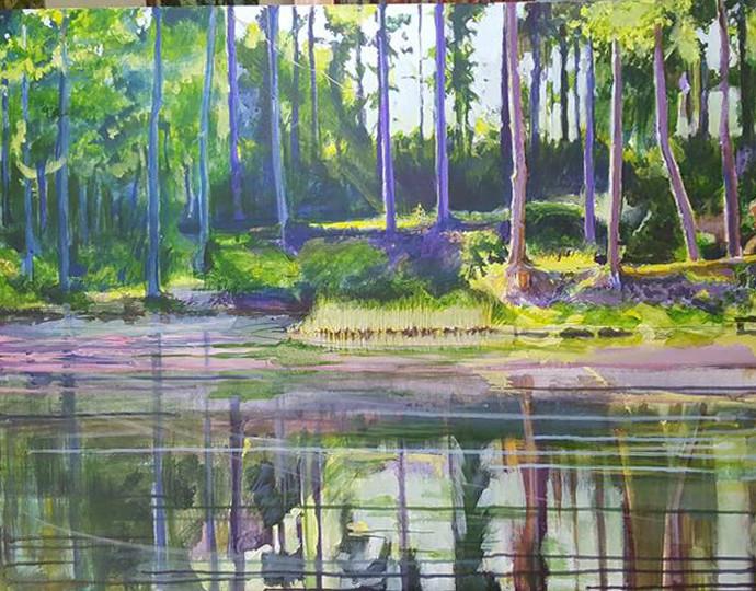 Richard Dubieniec - lake at la Bosse