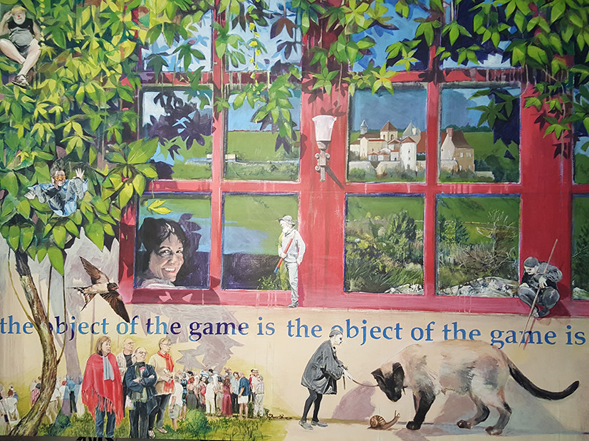 Richard Dubieniec - the object of the game is
